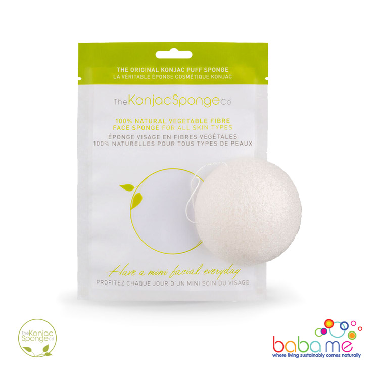 The Konjac Sponge Co Original Konjac Puff Sponge