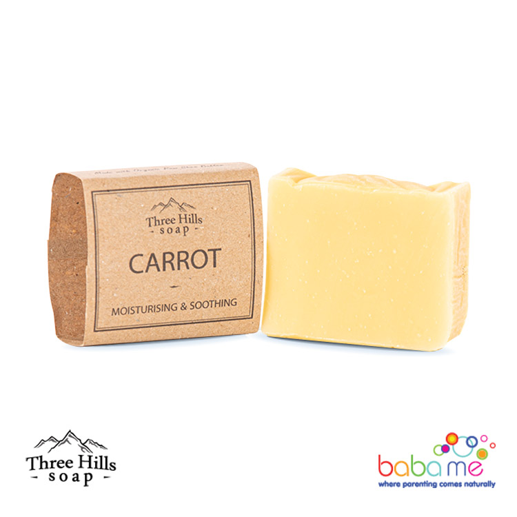 Three Hills Soap Carrot Soap Unscented