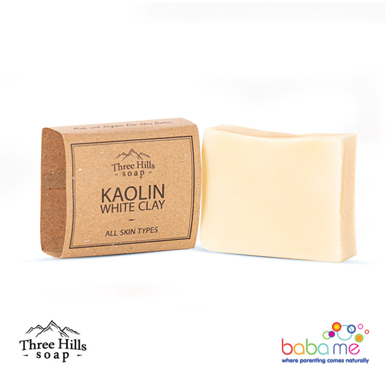 Three Hills Soap Kaolin White Clay Soap Unscented