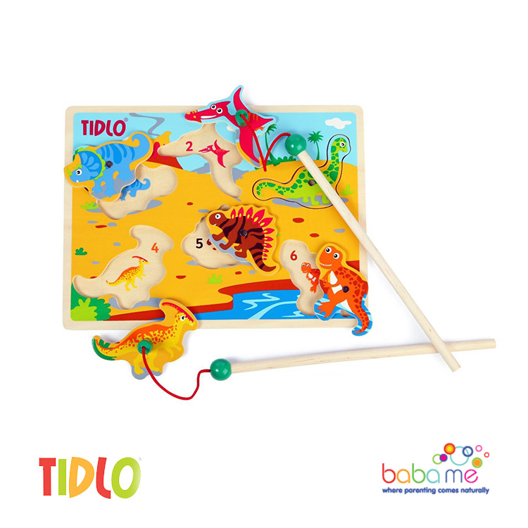Tidlo Magnetic Dino Fun