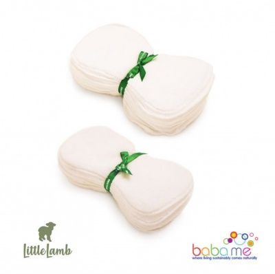Little Lamb Washable Fleecy Nappy Liners