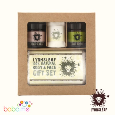 Lyonsleaf 100% Natural Body & Face Gift Set