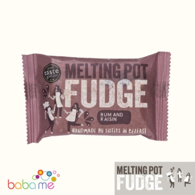 Melting Pot Fudge Rum & Raisin