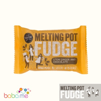 Melting Pot Fudge Stem Ginger & Dark Chocolate