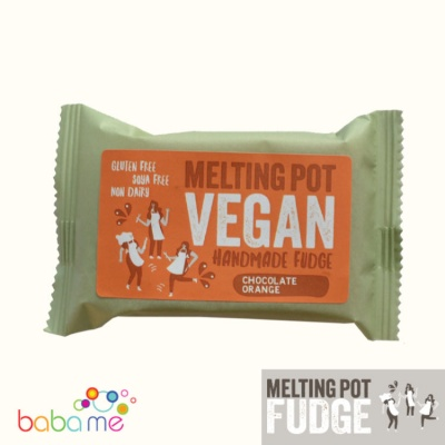Melting Pot Fudge Vegan Dark Chocolate Orange