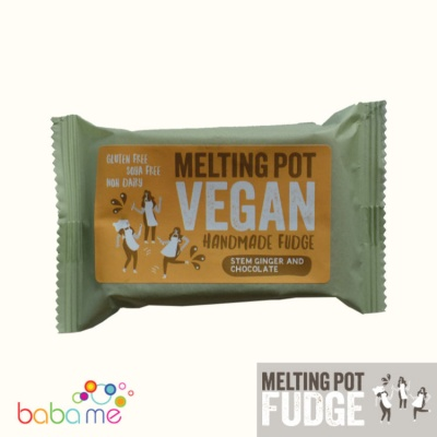 Melting Pot Fudge Vegan Stem Ginger & Chocolate