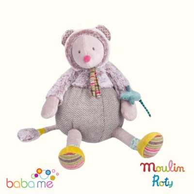 Moulin Roty Les Pachats Grey mouse doll