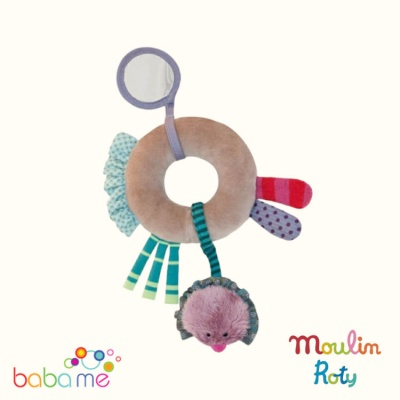 Moulin Roty Jolis pas beaux Ring rattle