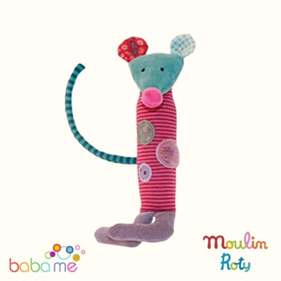Moulin Roty Mouse squeaky toy