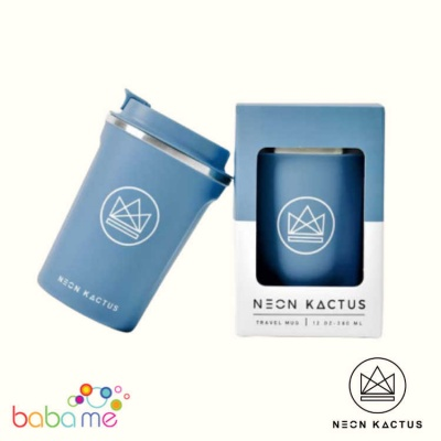 Neon Kactus Travel Mug - Super Sonic - Blue