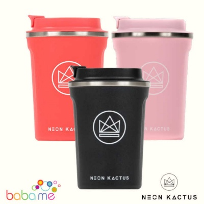 Neon Kactus Insulated Stainless Steel Coffee Cups