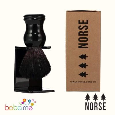 Norse Shaving Brush Ebony