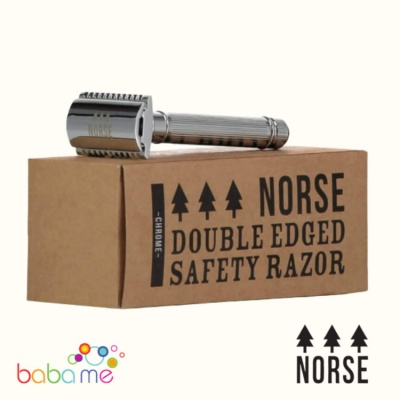Norse Double Edge Safety Razor Chrome