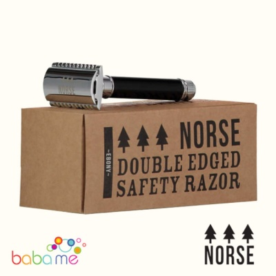 Norse Double Edge Safety Razor Ebony