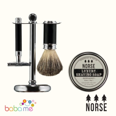 Norse Double Edged Safety Razor Shaving Set