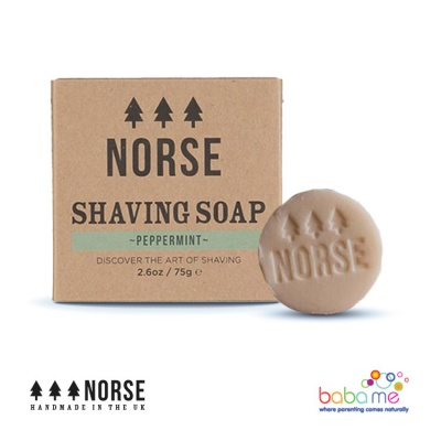Norse Vegan Shaving Soap Peppermint