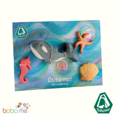 Ostheimer Marine Animals 4 pcs  NEW