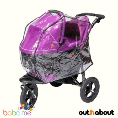 Out N About Nipper Carrycot Rain Cover