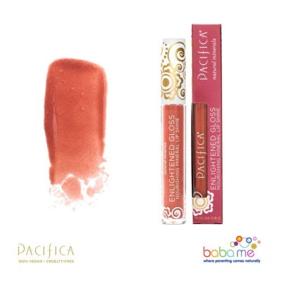 Pacifica Enlighten Mineral Lip Gloss Nudist