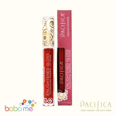 Pacifica Enlighten Mineral Lip Gloss Poppy