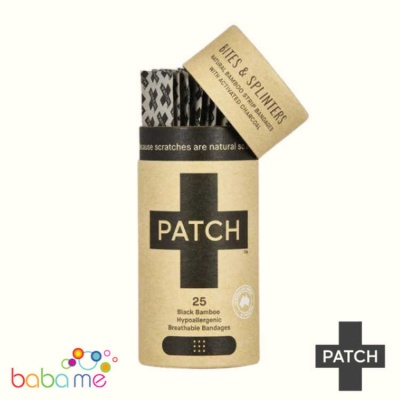 Patch Biodegradable Bamboo Plasters Activated Charcoal