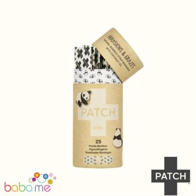 Patch Biodegradable Bamboo Plasters For Kids Coconut
