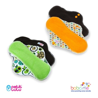 Petit Lulu Reusable Sanitary Pads - Regular