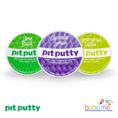 Pit Putty - Natural Deodorants