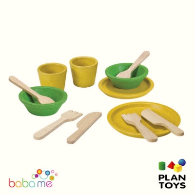 Plan Toys Tableware Set 3605