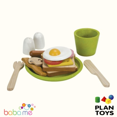 Plan Toys Breakfast menu 3602