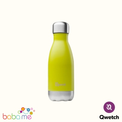 Qwetch Insulated Stainless Steel Bottle  Green Anise 260Ml