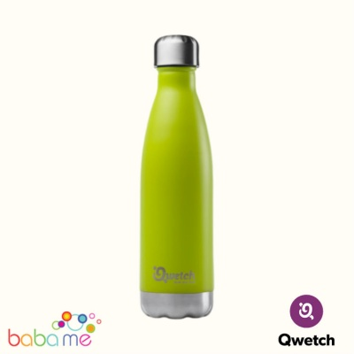 Qwetch Insulated Stainless Steel Bottle Green Anise 500Ml