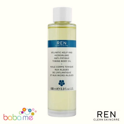 REN Atlantic Kelp Anti-Fatigue Toning Body Oil 100ml