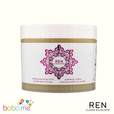 REN Moroccan Rose Sugar Body Polish 330ml