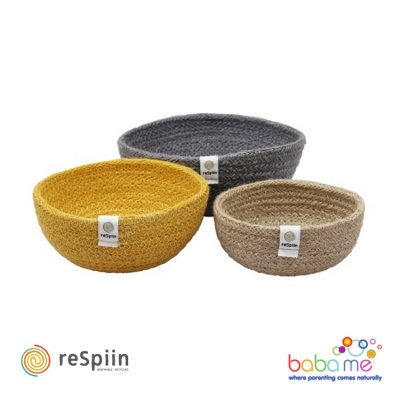 Respiin Outer Bowl from Blue/Natural Set