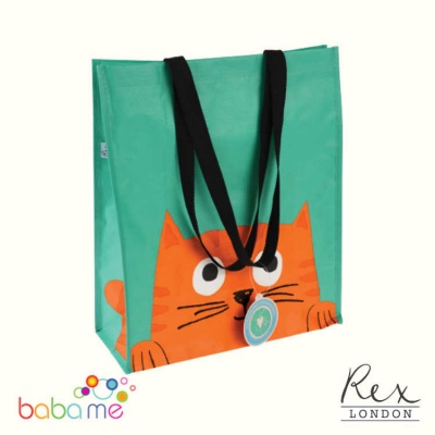 Rex London Chester The Cat Shopping Bag
