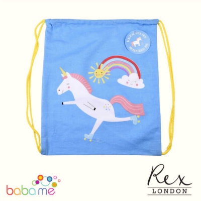 Rex London Magical Unicorn Drawstring Bag