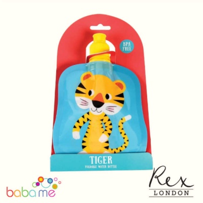 Rex London Tiger Folding Water Bottle