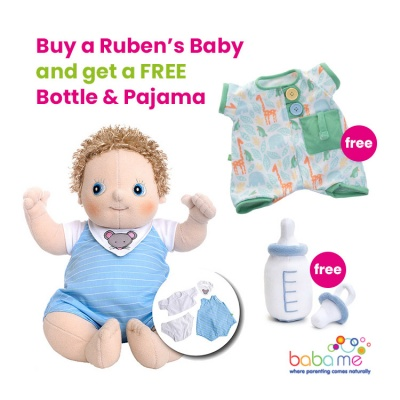 Rubens Baby Erik with FREE Bottle & Pajama Set
