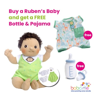 Rubens Baby Max with FREE Bottle & Pajama Set