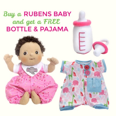 Rubens Baby Molly with FREE Bottle & Pajama Set