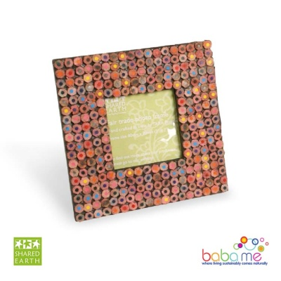 Shared Earth Crayons Frame (3''x3'')