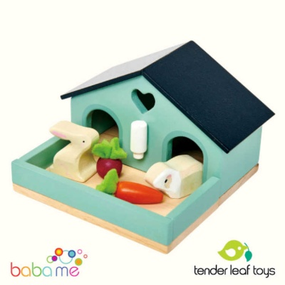 Tender Leaf Pet Rabbit Set
