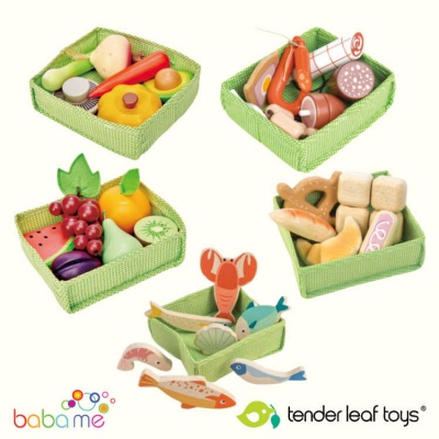 Tender Leaf Food Crate Market Bundle