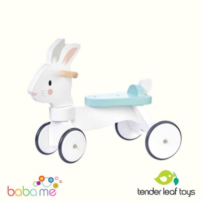 Tender Leaf Running Rabbit Ride On