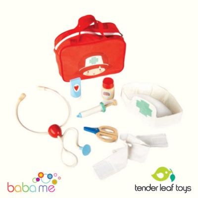 Tender Leaf Toys Doctors and Nurses Set Doctor Play Set