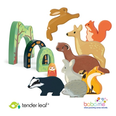 Tender Leaf Woodland Creatures Play Set