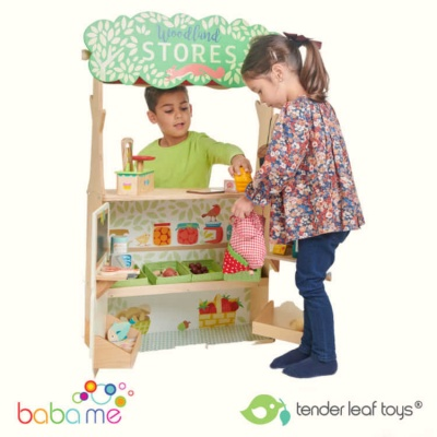 Tender Leaf Toys Woodland Stores And Theatre
