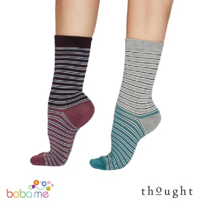Thought Isabel Stripe Bamboo Socks