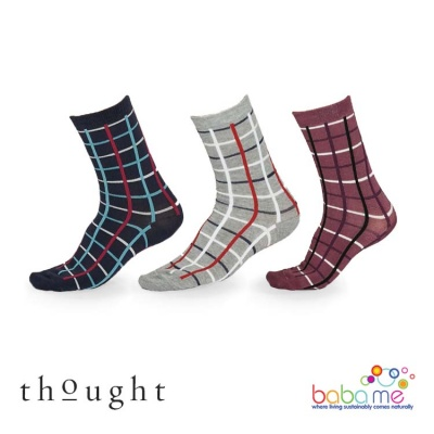 Thought Matilda Check Bamboo Socks